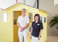 Dr. Malik Sehovic und Marina Lorenz.