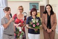 Sophie Oppermann, Rebecca Weis, Marina Lorenz und Julia Christodulow.
