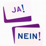 Meinungskarten Ja Nein reloaded