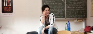 Dunja Hayali für Störungsmelder on tour - Gesicht Zeigen! Für ein weltoffenes Deutschland