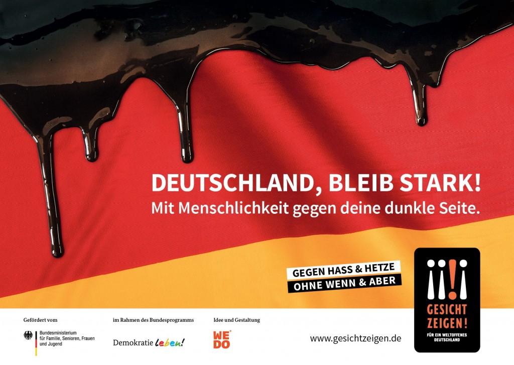 Deutschland bleib' stark! Kampagne von GZ!