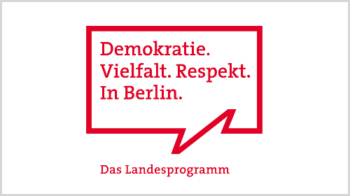 Berliner Landesprogramm Demokratie.Vielfalt.Respekt.