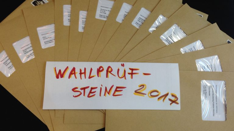 Wahlprüfsteine Bundestagswahl 2017