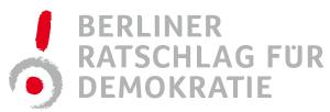 Logo des Berliner Ratschlags für Demokratie - Projektgeschäftsstelle bei Gesicht Zeigen! Für ein weltoffenes Deutschland e.V.