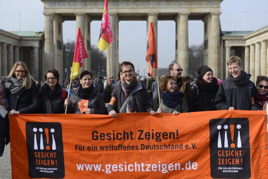 Aktionswochen 2018 - Gesicht Zeigen!