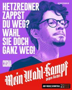 "Social Media Motiv ""Mein Wahl-Kampf - gegen Rechts"