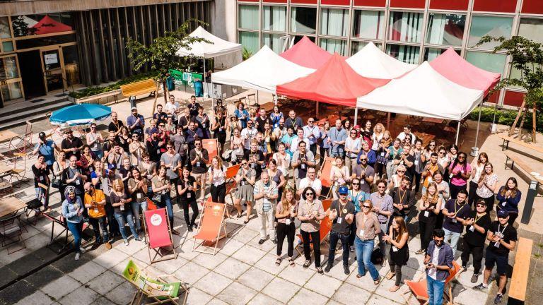 WelcomeCamp Gruppenbild. Foto: Andi Weiland