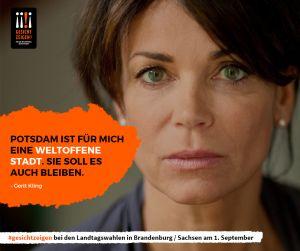 Gerit Kling zeigt Gesicht vor der Landtagswahl