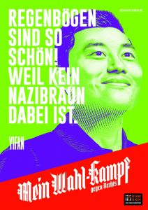 "Mein Wahl-kampf - gegen Rechts Plakatmotiv ""Yifan"" zum Download"
