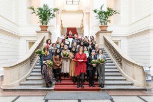 Hatun-Sürücü-Preis 2020 Gruppenfoto