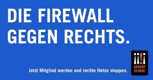 Die Firewall gegen Rechts